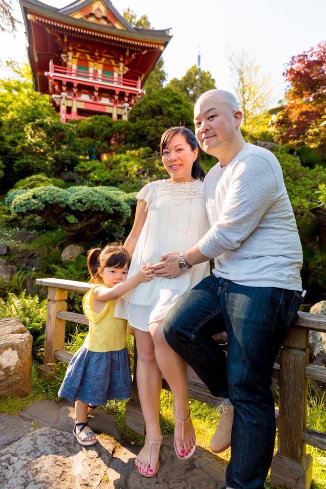 Family Photos San Francisco Japanese Tea Garden