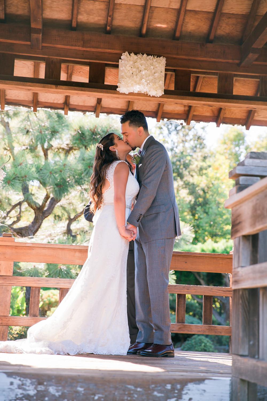 Hayward Japanese Gardens and City Hall Wedding