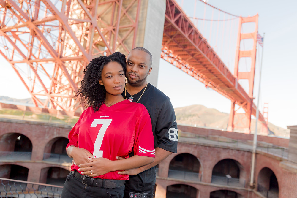 Fort Point Engagement Session | Photography by Vee