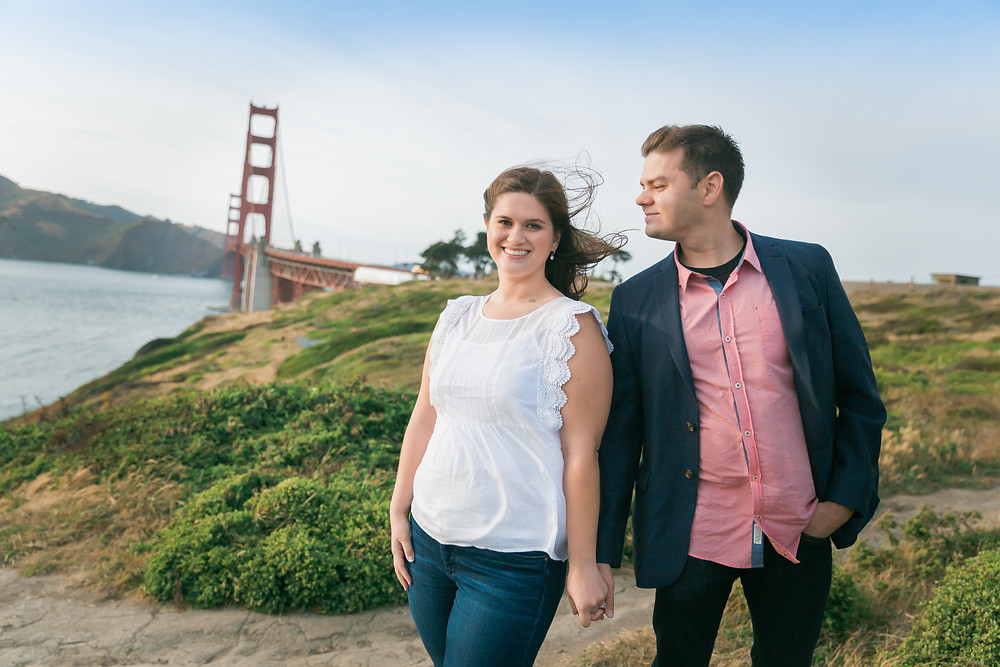 Golden Gate Engagement Photos