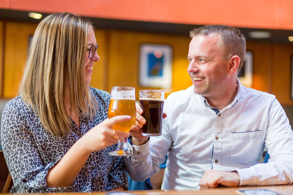Brewery Engagement Photos | Photography by Vee