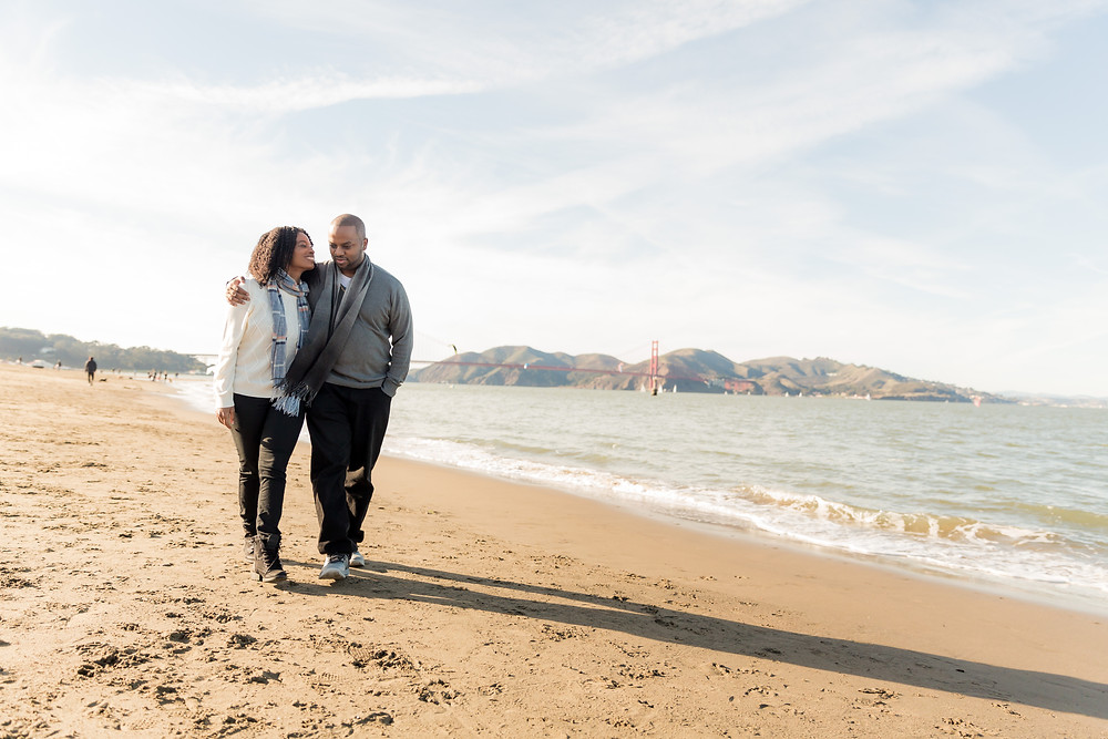 Crissy Field Engagement Session | Photography by Vee