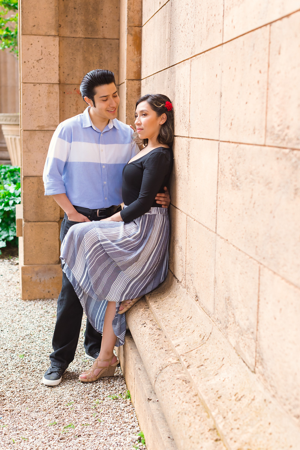 Palace of Fine Arts Engagement Session