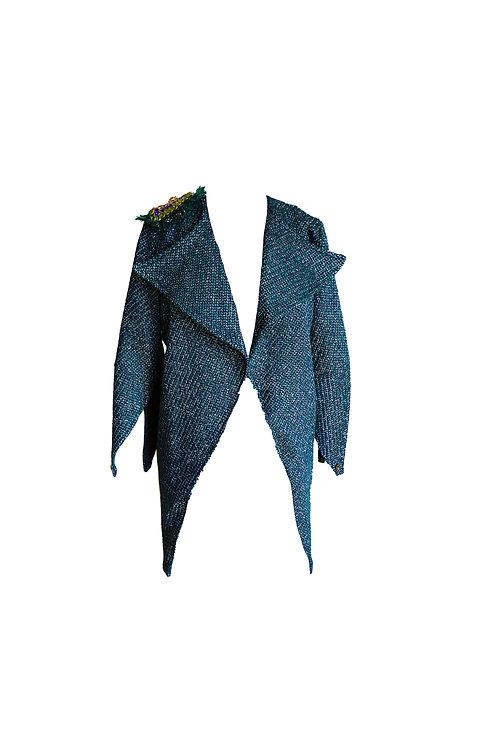 Crystal Embellished Peacock Cardigan