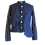 Thumbnail: Gold Chains Logo Denim Jacket