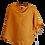 Thumbnail: Yellow Linen Poncho Blouse