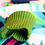 Thumbnail: Sleeveless Hoddie with Triangle Print