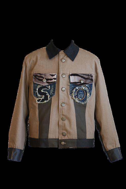 SO Oversized Unisex Denim Jacket