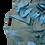 Thumbnail: Light Blue Linen Kaftan with Ruffles