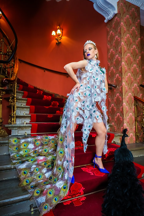 The Realness Peacock Dress