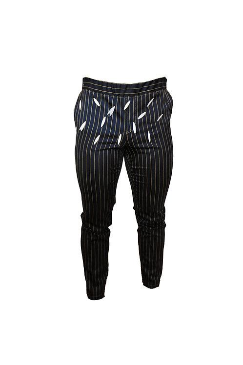 Striped Wool Pants
