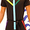 Thumbnail: Black Color Jumpsuit with Zippers