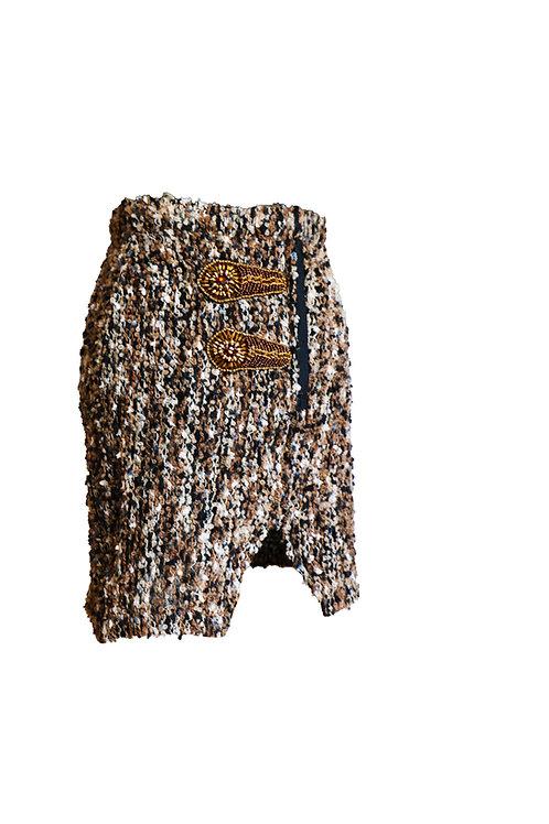 Asymetrical Pencil Skirt