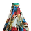 Thumbnail: Floral Chiffon Long Gown Skirt