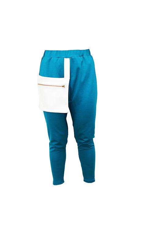 The White Pocket Pants