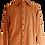 Thumbnail: Brown Linen Shirt with Wooden Art