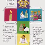 Nativity Story Cube