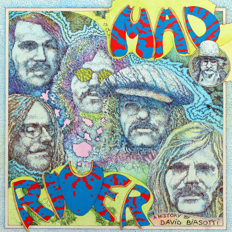 mad river, brautigan booklet cover