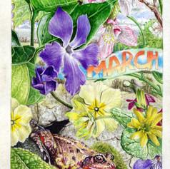 march on vellum