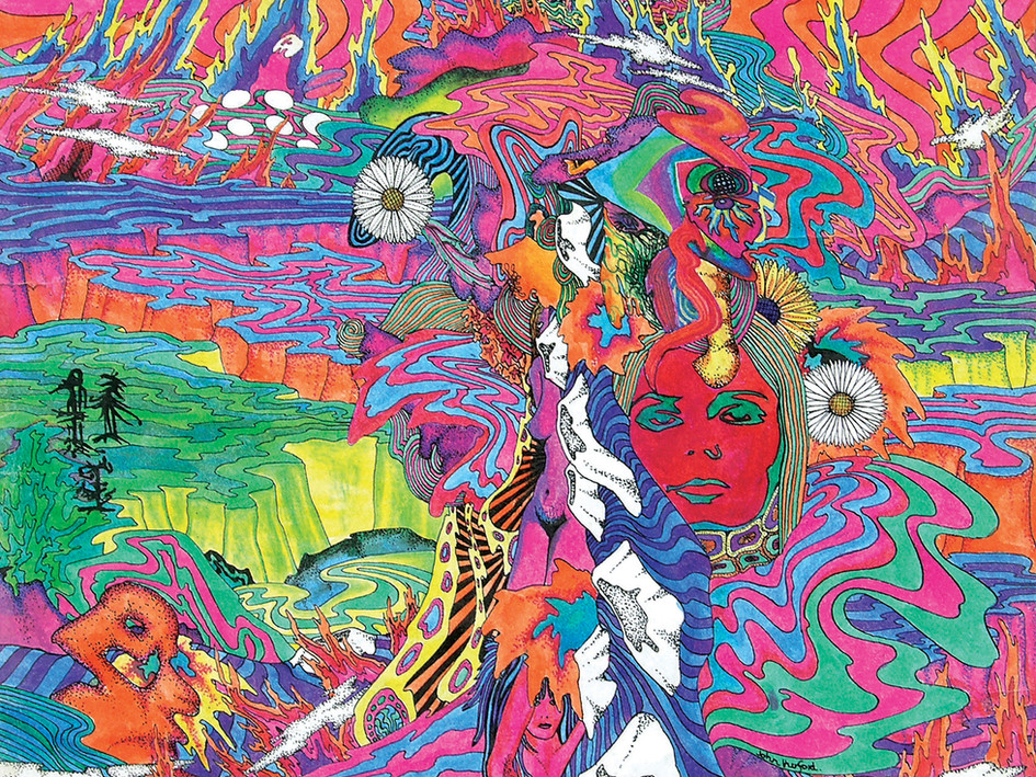 psychedelic painting no1