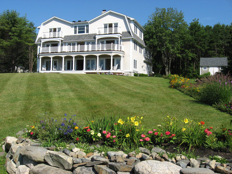 Luxury New Construction on Maine Coast