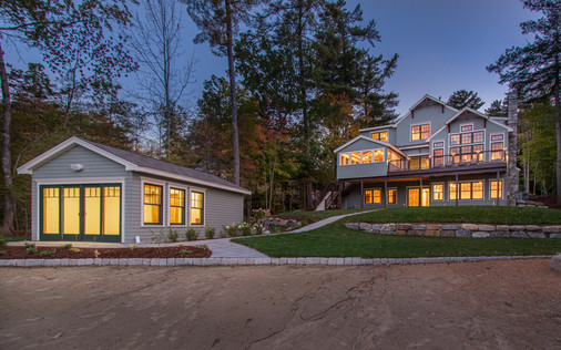 Luxury New Construction in NH Lakes Region