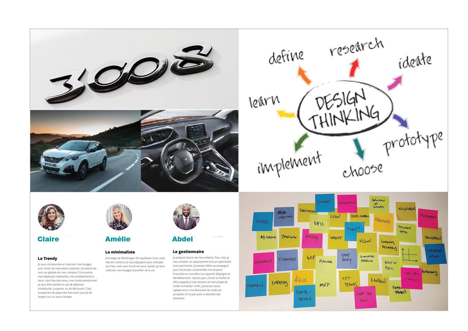3008 Peugeot  Innovation Tableau de bord