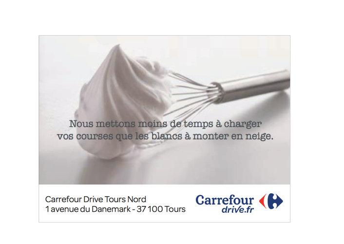 Carrefour Drive - Les courses en 2 coups de cuillère à pot !