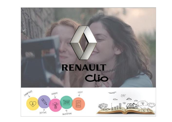 CLIO Renault  Nouveau positionnement
