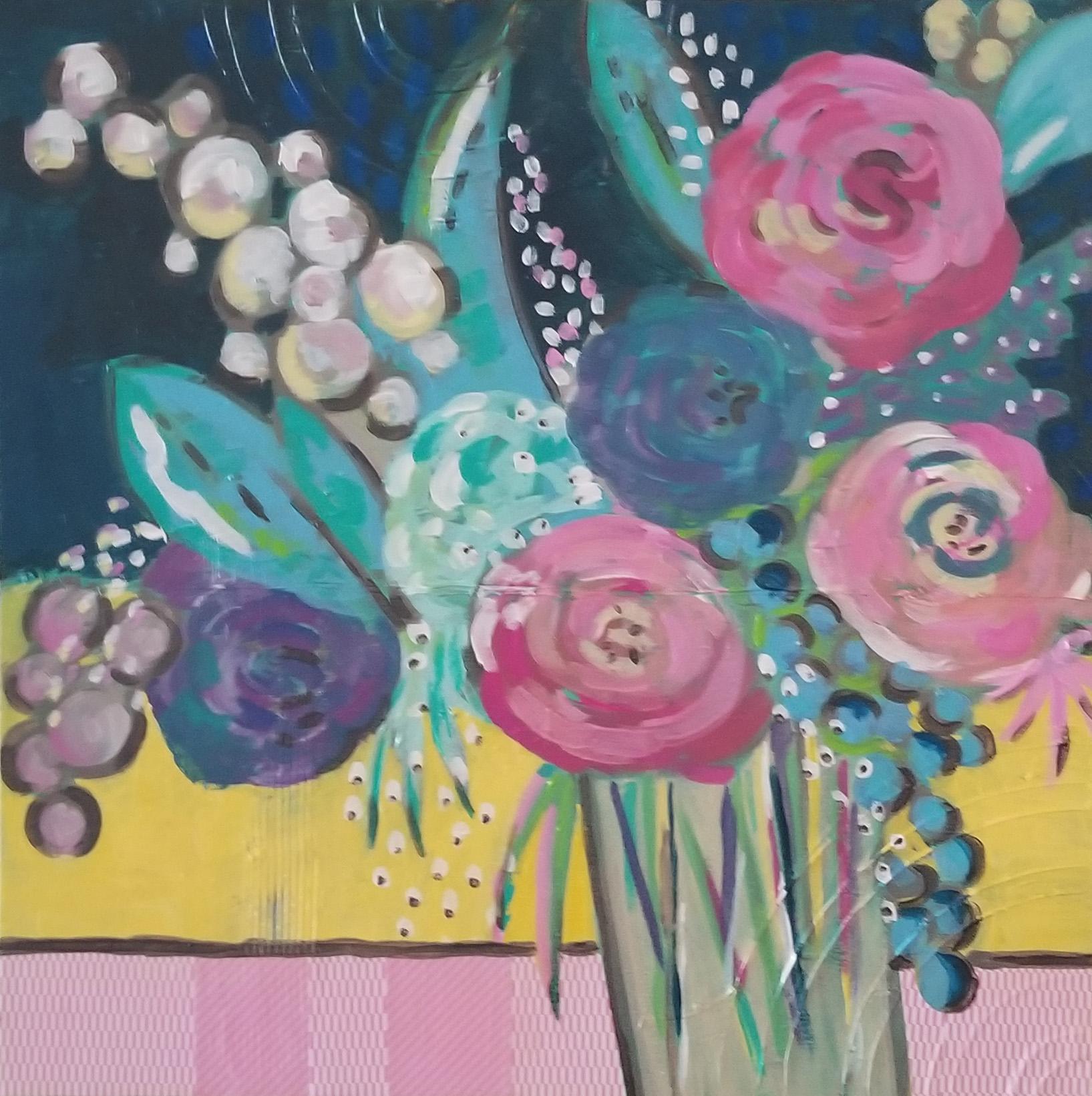 Pink&PurpleBouquet_24x24_LG