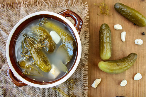Fermented Cucumber (Kiszone)