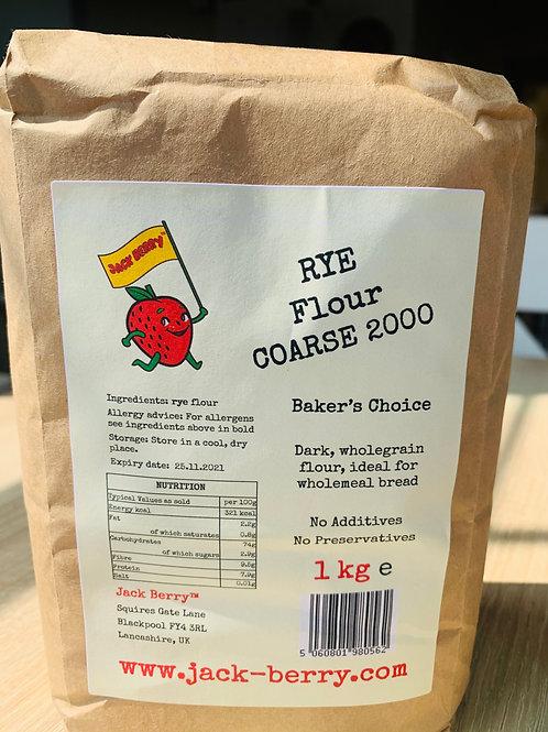 RYE Flour Coarse 2000 1kg