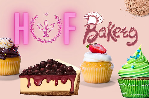 Mystery Sweet Box - (8 different treats) Selection of Brownies, Muffins and more