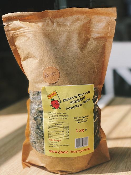 Baker's Choice PREMIUM Pumpkin Seeds 1kg