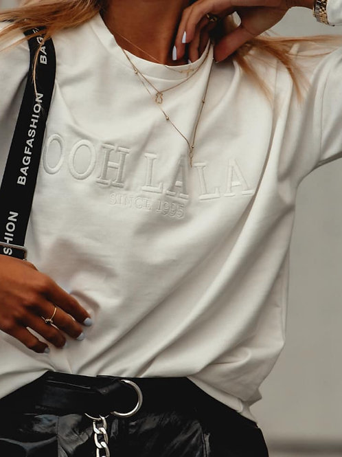 Long Sleeve Top White