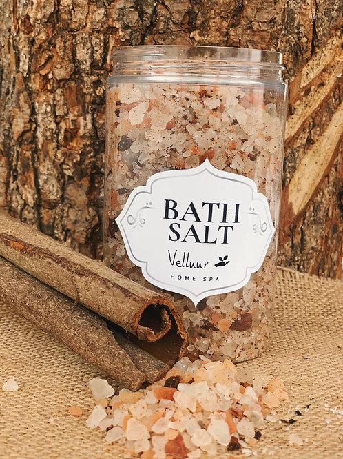 Bath Salt with Orange & Cinnamon