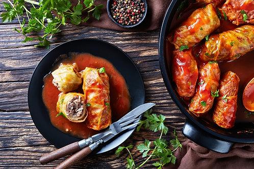 Gołąbki - Cabbage Rolls with Pork