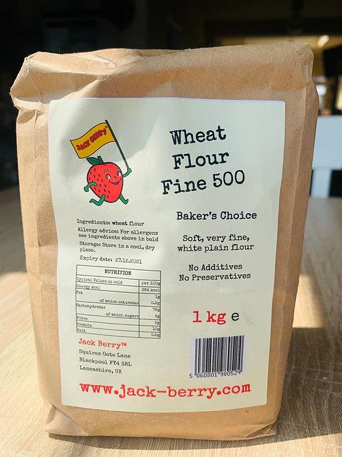 Wheat Flour Fine 500 1kg