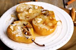 baked pear