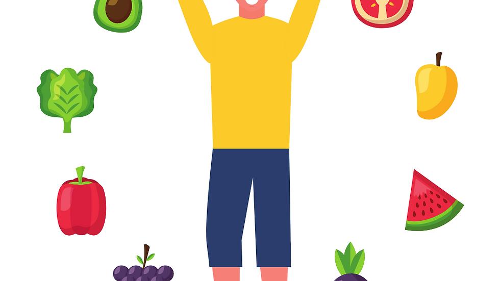 Monthly Diet - Premium - Three Meals Per Day