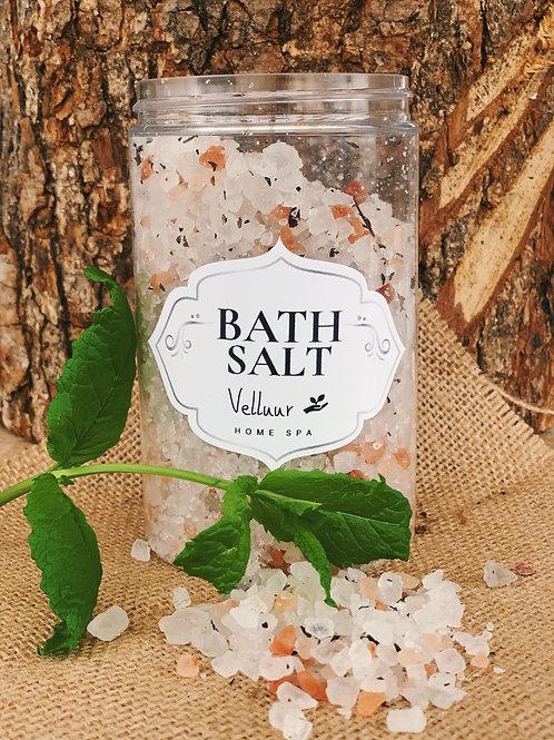Bath Salt with Natural Mint