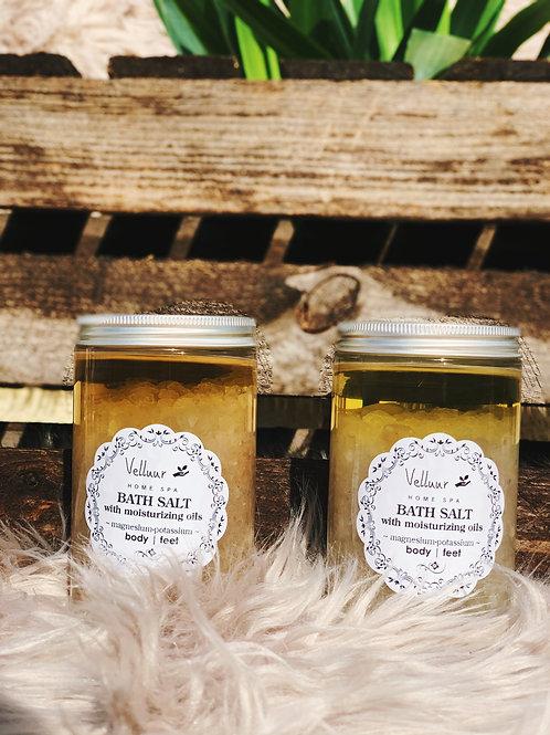 Bath Salt with Moisturizing Oils Fresh Bamboo