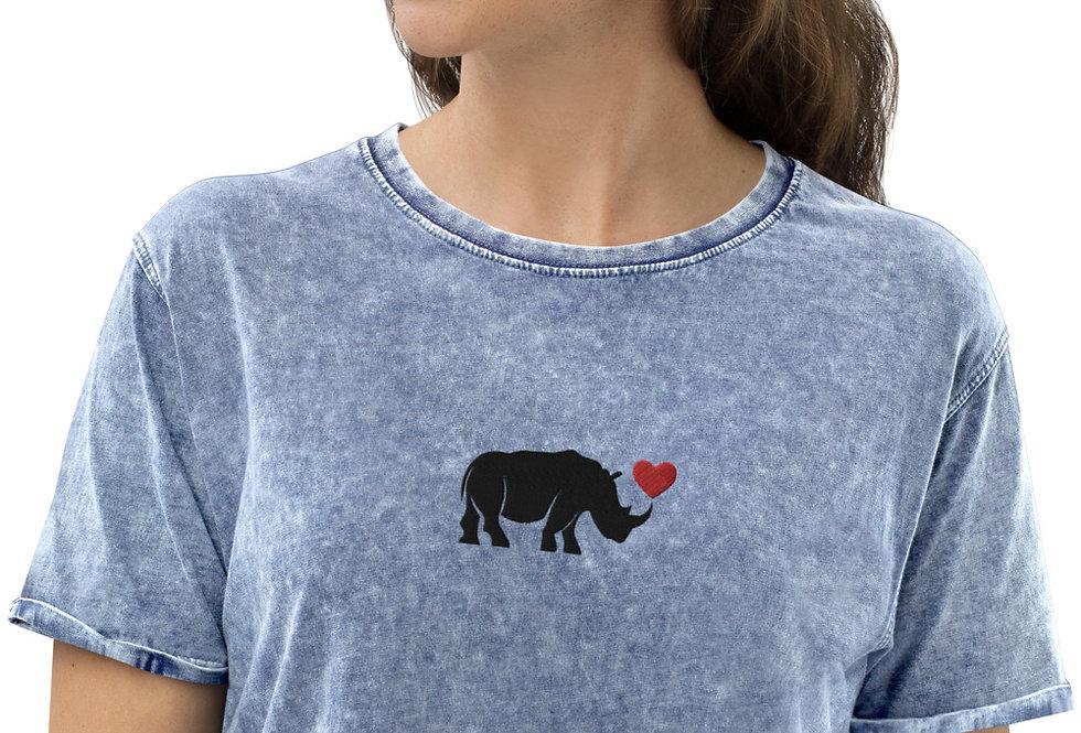 Rhino Denim T-Shirt