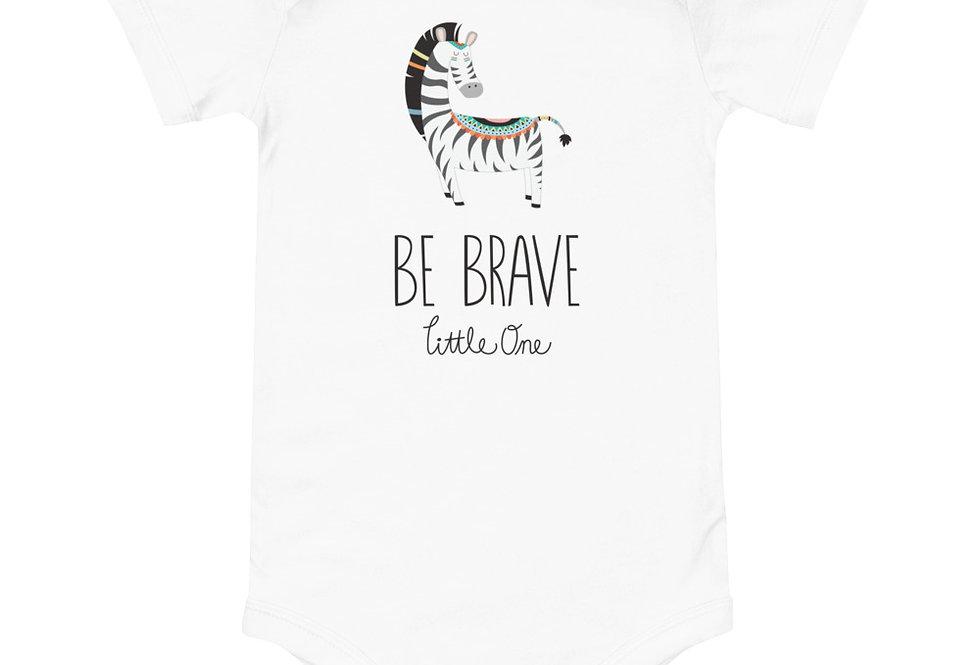 Baby tribal Zebra one piece