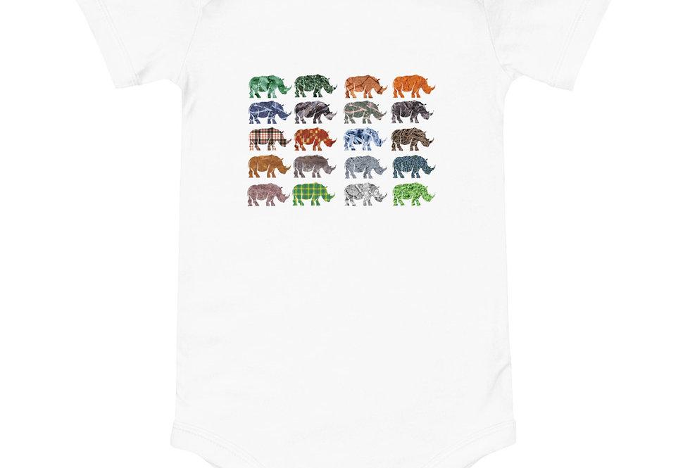 Baby Multi Rhino one piece