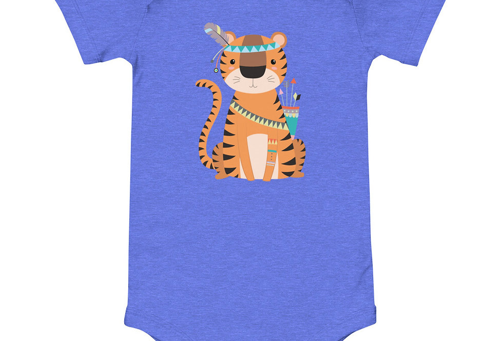 Baby tribal tiger one piece