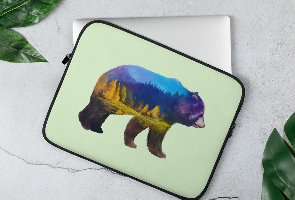 Bear Adventure Laptop Sleeve
