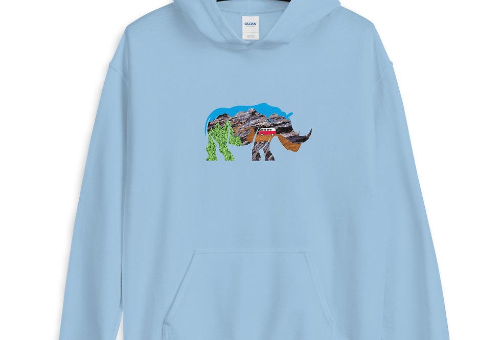 Adventure Rhino Hoodie