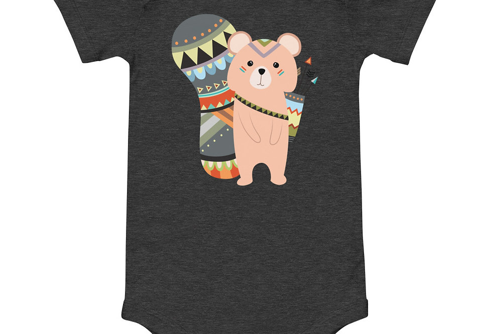 Baby tribal squirrel one piece