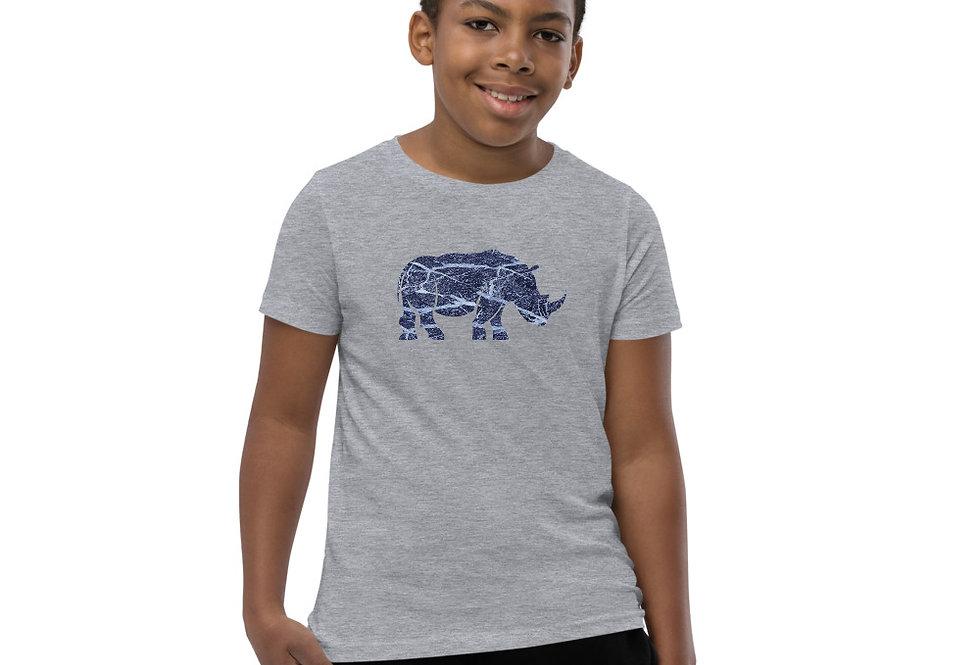 Blue Stone Rhino T-Shirt